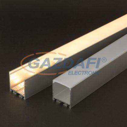41022M2 LED aluminium profil takaró búra