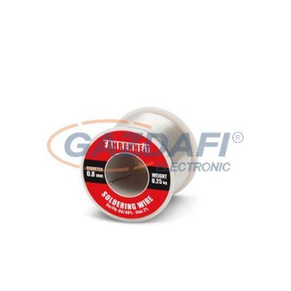 FAHRENHEIT 55083 Forrasztó ón D=0,8mm 0,25Kg