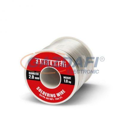 FAHRENHEIT 55093 Forrasztó ón D=2mm 1Kg