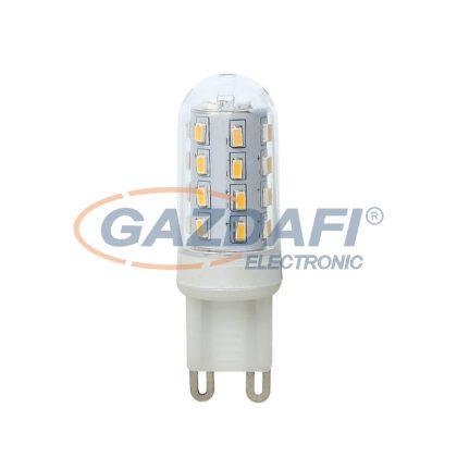 GLOBO 10676-2 LED fényforrás , G9 , 3W , 230V/50-60 Hz , 280 Lm , 3000 K , műanyag