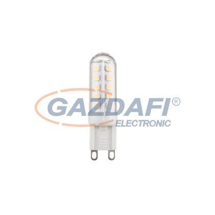 GLOBO 10676 LED fényforrás , G9 , 3W , 230V/50-60 Hz , 280 Lm , 3000 K , műanyag