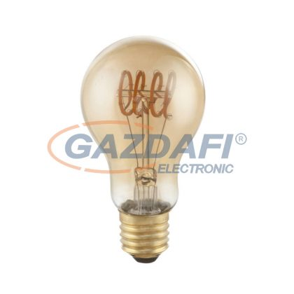 GLOBO 11403F LED fényforrás , E27 , 4W , 230V/50-60 Hz , 200 Lm , 2000 K , sárgaréz , üveg