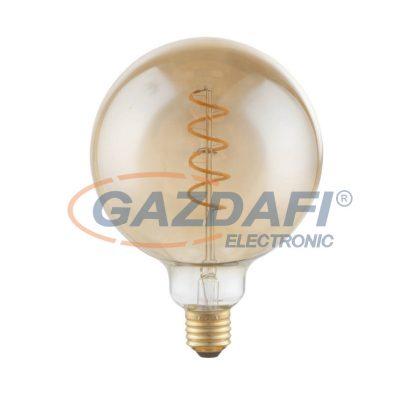 GLOBO 11404F LED fényforrás , E27 , 4W , 230V/50-60 Hz , 200 Lm , 2000 K , sárgaréz , üveg
