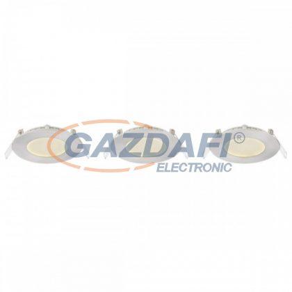 GLOBO 12370N-3 ALID Pontlámpa , LED 3W , 3000 K , 150 Lm , alumínium öntvény, nikkel matt, műanyag