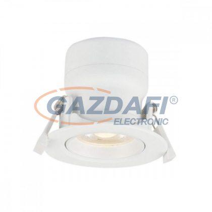GLOBO 12393-5 POLLY Süllyesztett LED lámpa 5W 3000 K 400 Lm műanyag fehér