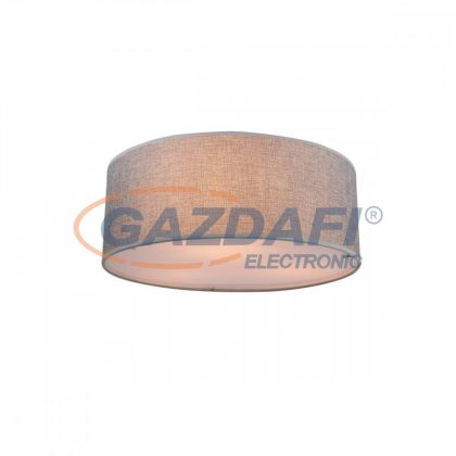 GLOBO 15185D Paco Mennyezeti lámpa , 40W ,  3x E14 , nikkel matt, textil, műanyag, akril