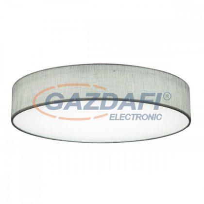 GLOBO 15185D4 PACO Mennyezeti lámpa , LED 60W ,  3000-6000 K , 150-2800 Lm , fém fehér , textil , akril