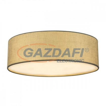GLOBO 15185D6 PACO Mennyezeti lámpa , 60W ,  6x E27  , nikkel matt , textil , akril