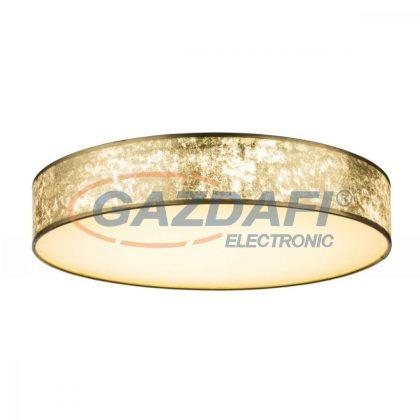 GLOBO 15187D5 AMY Mennyezeti lámpa ,  LED 80W , 3000-6000 K , 250-4000 Lm , fémfehér, textil, akril, műanyag, arany