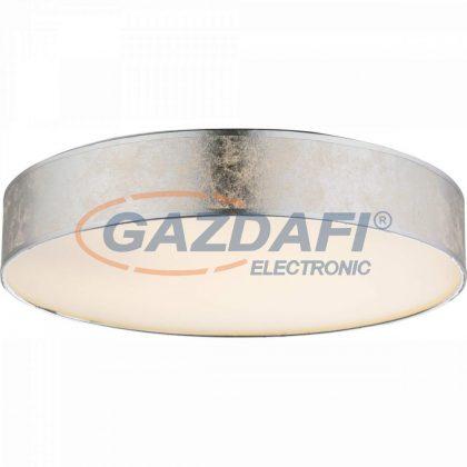 GLOBO 15188D2 AMY I Mennyezeti lámpa , LED 24W , 3000 K , 1120 Lm , fémfehér, textil, ezüst, műanyag, akril, ezüst