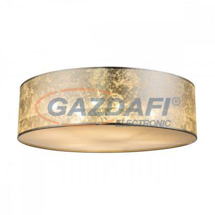GLOBO 15188D6 AMY I Mennnyezeti lámpa , 60W ,  6x E27  , fémfehér, textil, akril, műanyag, ezüst