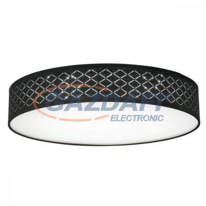 GLOBO 15229D4 CLARKE Mennyezeti lámpa , LED 60W , 3000-6000 K , 150-3000 Lm ,  fém fehér ,textil, akril, műanyag arany