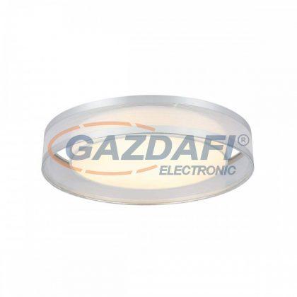 GLOBO 15259D2 NAXOS Mennyezti lámpa , LED 24W , 3000 K , 1010 Lm , fémfehér, fonal, akril, műanyag, króm