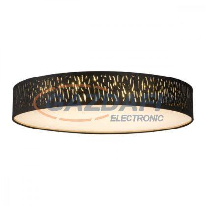 GLOBO 15264D4 TUXON Mennyezeti lámpa , LED 60W , 3000-6000 K ,150-3000 Lm ,  fém fehér / bársony / akril/ műanyag arany