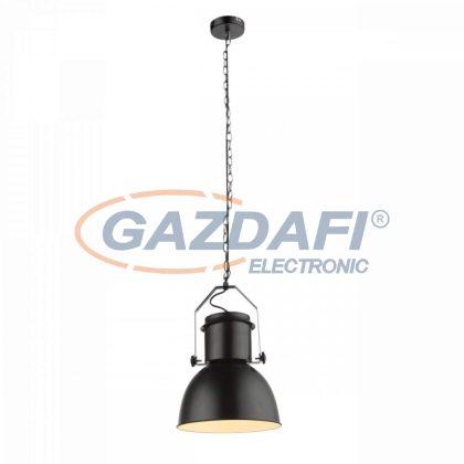GLOBO 15283 KUTUM függesztékes lámpa , 40W , E27 , fém fekete