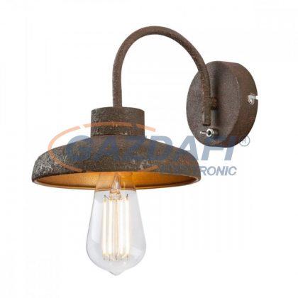 GLOBO 15305W DARENU Fali lámpa , 60W , E27 , rozsda hatású