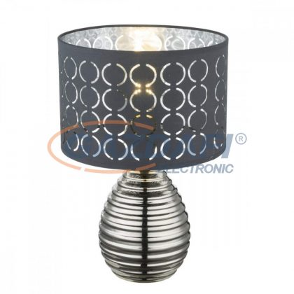 GLOBO 21617 MIRAUEA Asztali lámpa , 60W , E27 , kerámia, textil, műanyag