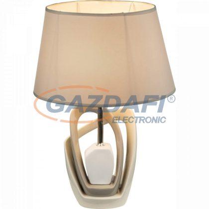 GLOBO 21642T JEREMY Asztali lámpa , 40W , E27 , fém, kerámia, textil, műanyag