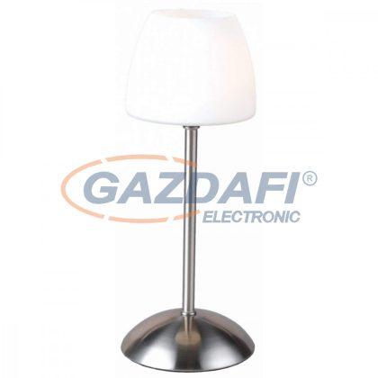 GLOBO 21903L TROPICAL Asztali lámpa , LED 3W , G9 , 3000 K , 154 Lm , nikkel matt/ üveg