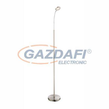 GLOBO 24122S  DENIZ  Állólámpa ,  LED 5W , 3000 K , 350 Lm , nikkel matt / króm / akril