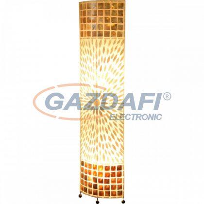 GLOBO 25826 BALI Állólámpa , 40W , 2x E27 , tengeri kagyló, műanyag, fém