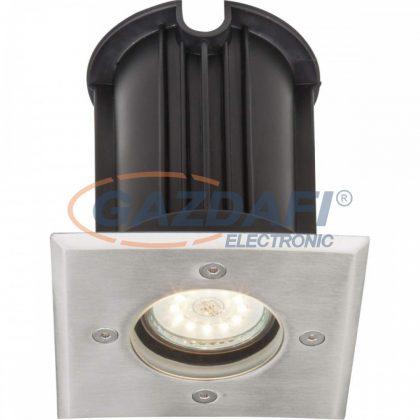 GLOBO 31101 STYLE II Süllyesztett padlólámpa , 40W , GU10 , rozsdamentes acél, üveg, műanyag