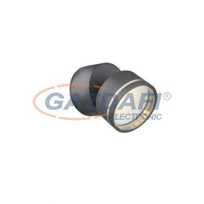 GLOBO 34301  LISSY Kültéri fali lámpa ,  LED 6,5W , 3000 K , 525 Lm , alumínium öntvény, üveg