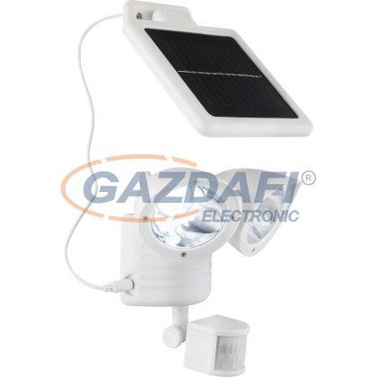GLOBO 3723S SOLAR Napelemes kültéri mozgásérzékelő , 22x LED 0,06W , 7500 K , 120 Lm , műanyag