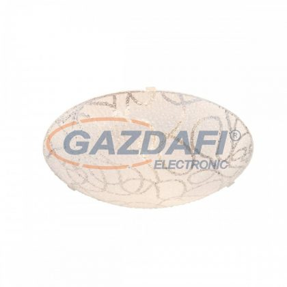 GLOBO 40001 Calimero Mennyezeti lámpa E27, ILLU , 60W , fém fehér , üveg , műanyag