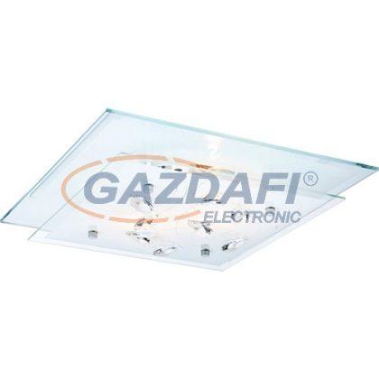 GLOBO 40408 Jasmina Mennyezeti lámpa , 40W , E27, króm , K5 kristály , üveg , tükör