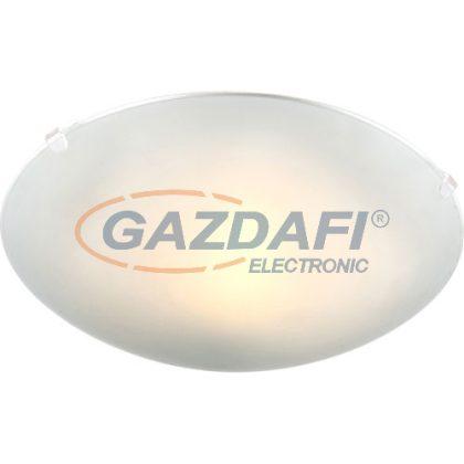 GLOBO 40989-60 Buque Mennyezeti lámpa ,E27, ILLU , 40W , fém fehér , üveg , műanyag