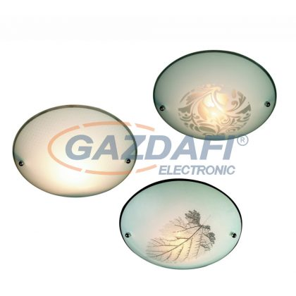GLOBO 40990-18 Buque Mennyezeti lámpa , E27, ILLU, 60W , fém fehér , üveg , króm