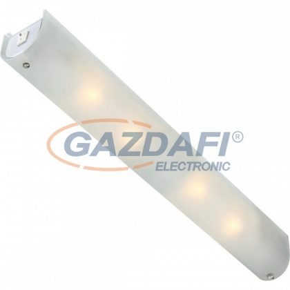 GLOBO 4102 LINE Fali lámpa , 40W , E14 , 230V , króm , üveg