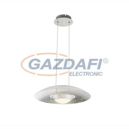 GLOBO 41903H  Ätna Beltéri lámpa, 18W , 3000 K , 1440 Lm , ezüst/ akril