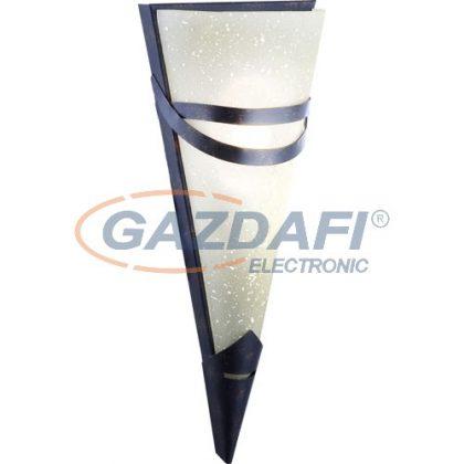 GLOBO 4413-1  RUSTICA II Fali lámpa , 40W , E14 , 230V , fém , üveg