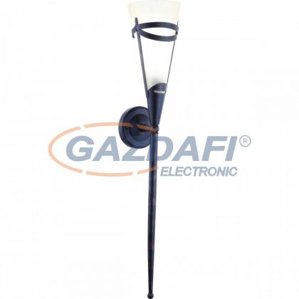 GLOBO 4413-1W RUSTICA II Fali lámpa , 40W , E14 , 230V , fém , üveg