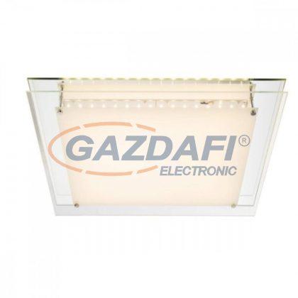 GLOBO 48000-28 Euron Mennyezeti lámpa , 28W , 3000 K , 1800 Lm , ezüstös szürke , szatén üveg , tükör