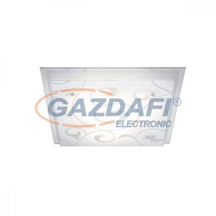 GLOBO 48062-3 DIA Mennyezeti lámpa , E27, ILLU, 60W ,230V , króm , fém fehér , üveg