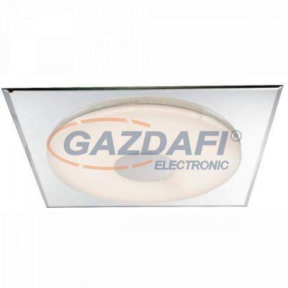 GLOBO 48355 Atreju Mennyezeti lámpa , 18W ,6000 K , 1200 Lm , fém fehér , króm , tükör, akril, szikra dekor