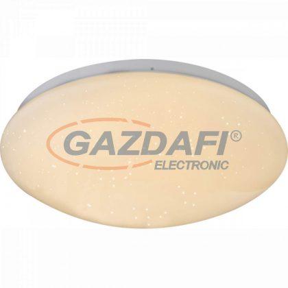 GLOBO 48363 Atreju I Mennyezeti lámpa , 12W , 3000 K , 750 Lm , fém fehér , akril , szikra dekor