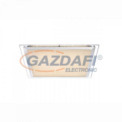 GLOBO 48380 Rena Mennyezeti lámpa , 30W , 6000 K , 2700 Lm , fém fehér , króm , akril, műanyag , szikra dekor