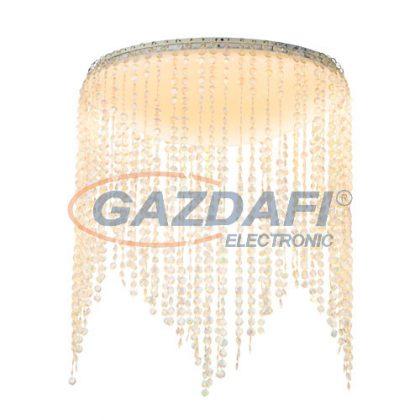 GLOBO 48387-18 Lancel Mennyezeti lámpa , 18W , 3000-6000 K , 1080 Lm , műanyag/akril kristályok