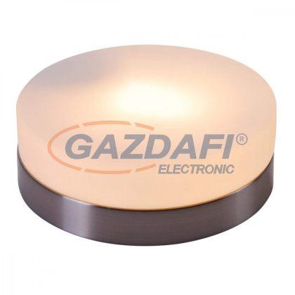 GLOBO 48401 OPAL Mennyezeti lámpa ,E27, ILLU, 60W , 230V , nikkel matt , üveg