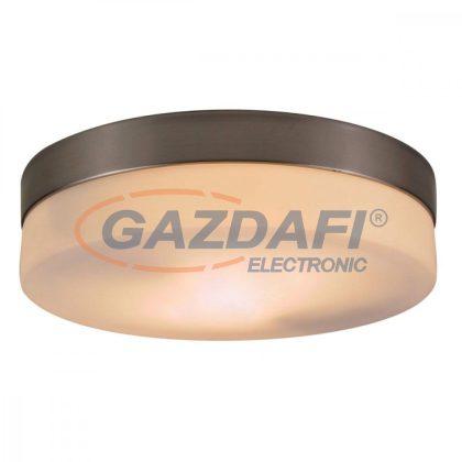 GLOBO 48402 OPAL Mennyezeti lámpa ,E27 , ILLU,  40W ,230V , nikkel matt , üveg