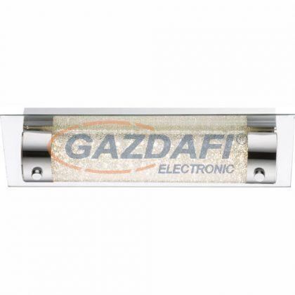 GLOBO 48503-8 Nimrod Fali lámpa , 8W ,4000 K , 670 Lm , króm , tükör , K5 kristály , üveg , kristály effekt