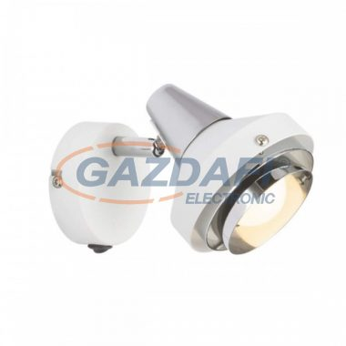 GLOBO 54301-1 RORGE Fali lámpa , 15W ,  E14 , fém fehér , króm