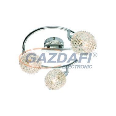 GLOBO 54502-3 DAXOS Mennyezeti lámpa , 40W , 3x E14 , króm
