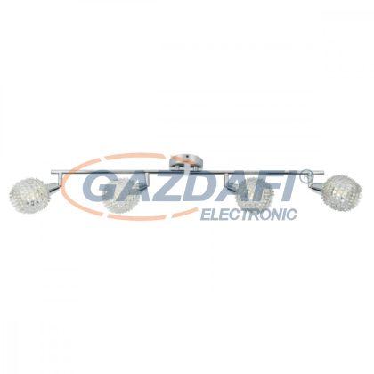 GLOBO 54502-4 DAXOS Mennyezeti lámpa , 40W ,  4x E14 , króm