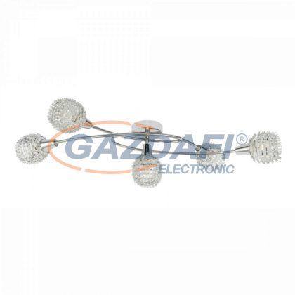 GLOBO 54502-5 DAXOS Mennyezeti lámpa , 40W ,  5x E14 , króm