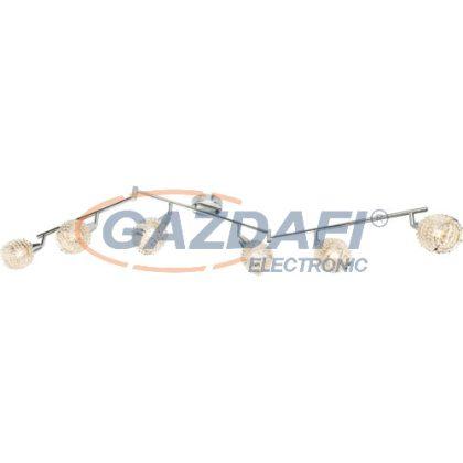 GLOBO 54502-6 DAXOS Mennyezeti lámpa , 40W,  6x E14 , króm